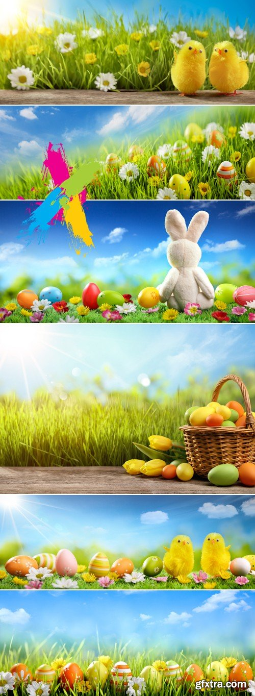 Stock Photo - Easter 2017 Backgrounds