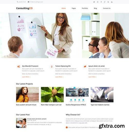 CreativeMarket - ConsultingCO - Responsive WP Theme 1304960