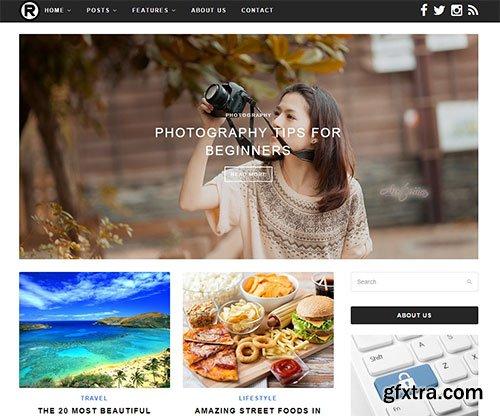 CreativeMarket - Ready v1.2 - Responsive Clean Theme 1304590