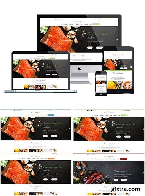 CreativeMarket - WS DESUSHI v1.0 - Sushi Wordpress Themes 1303726
