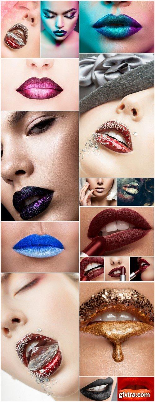 Creative makeup lips 14X JPEG