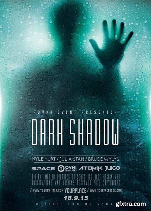 Dark Shadow V5 Flyer Template