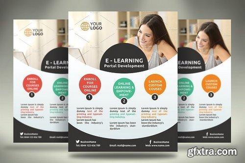 CM - E-Learning Flyer 1110943
