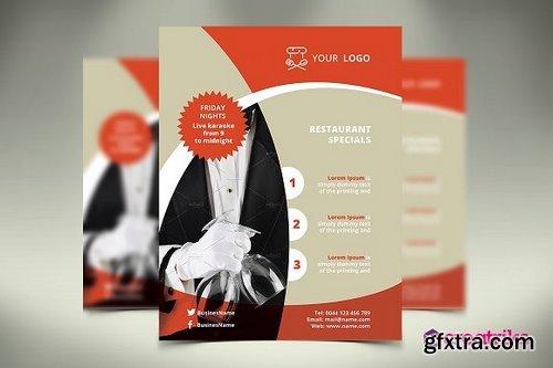 CM - Restaurant Flyer 1136121