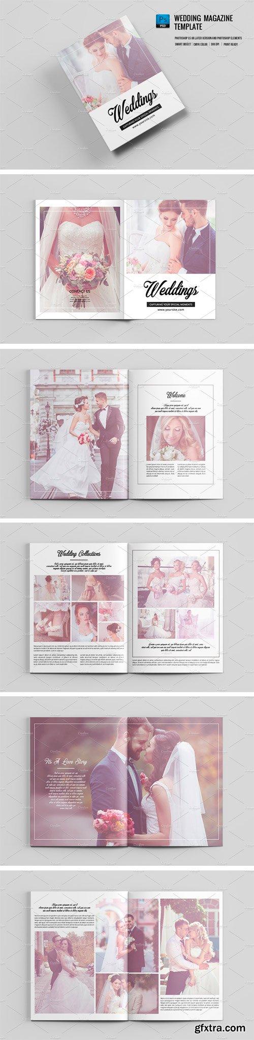 CM 1291408 - Wedding Photographer Magazine-V671