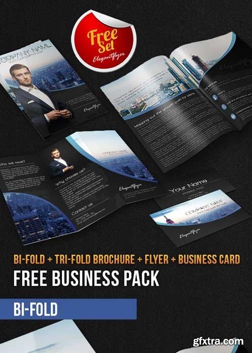 Business Brochure Pack V7 PSD Template