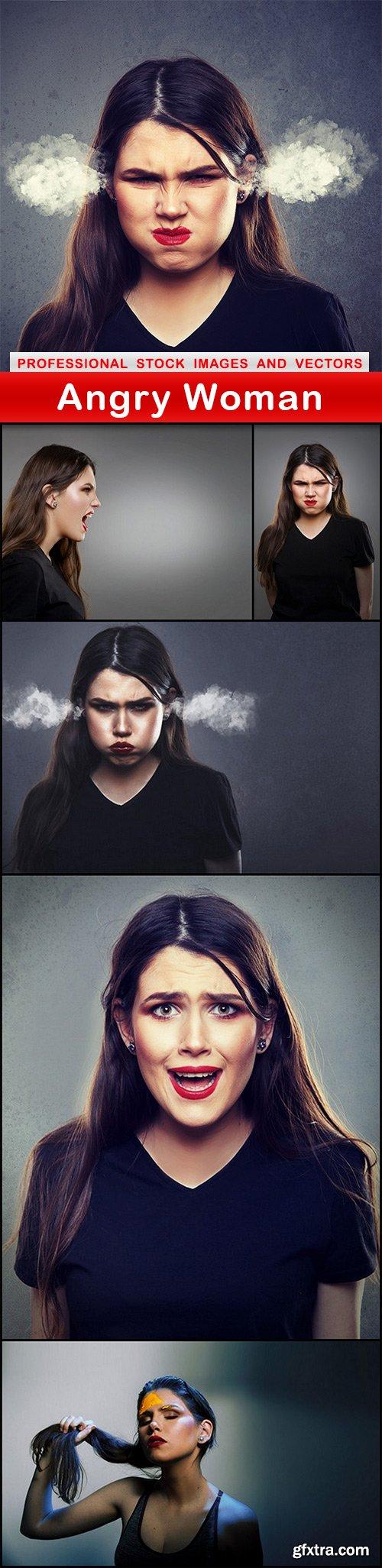Angry Woman - 6 UHQ JPEG
