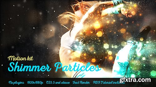 Videohive Shimmer Particles Motion Kit 19044846