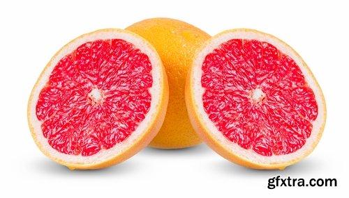 Collection of fruits set orange mandarin orange lemon pineapple juice 25 HQ Jpeg