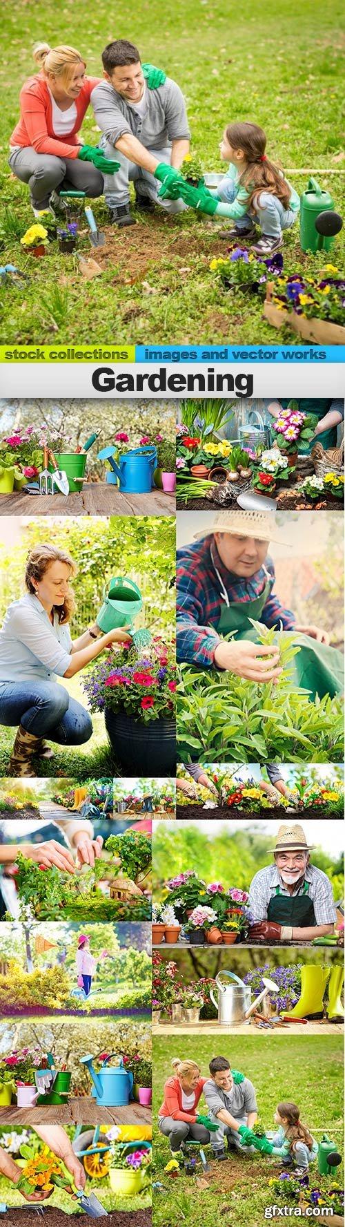 Gardening, 15 x UHQ JPEG