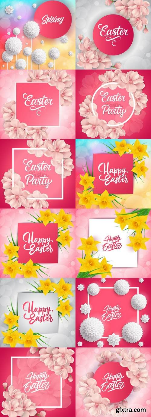 Flowers - Easter Lettering