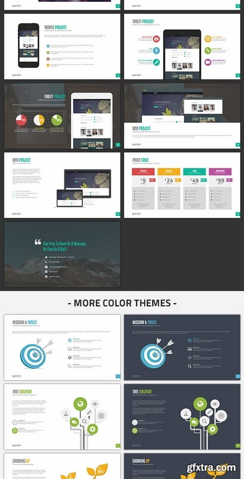 GraphicRiver - Botein Keynote Template 8748361