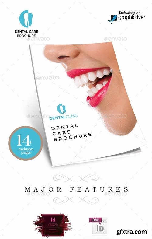 GraphicRiver - Dental Clinic Services or Care Brochure 9529058