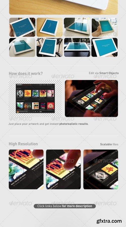 GraphicRiver - Pad Tablet App UI Mock-Up Bundle 5107074