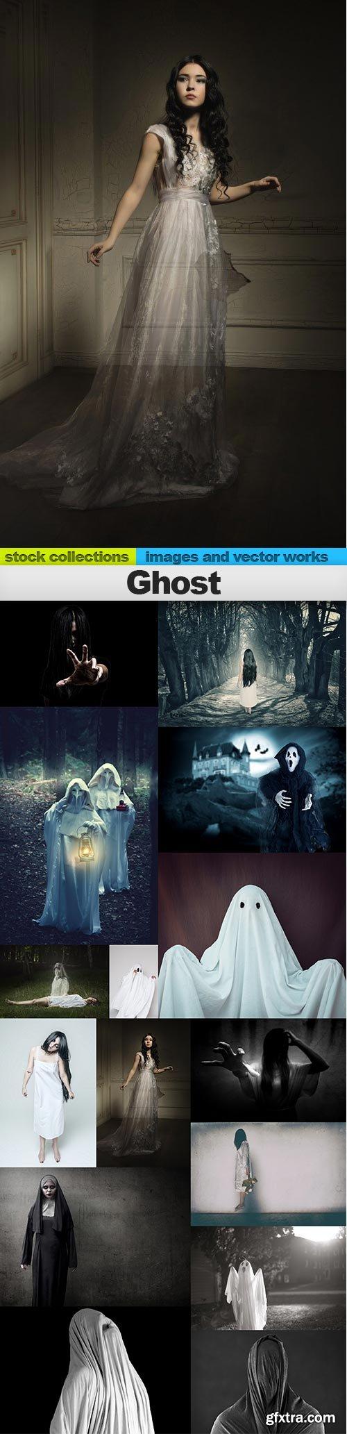 Ghost, 15 x UHQ JPEG
