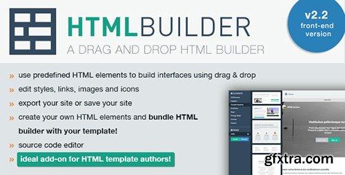 CodeCanyon - HTML Builder (Front-End Version) v2.2.8 - 8432859