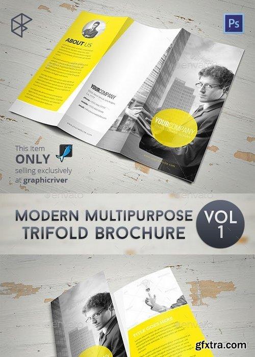 GraphicRiver - Modern Multipurpose Trifold Brochure 7874112