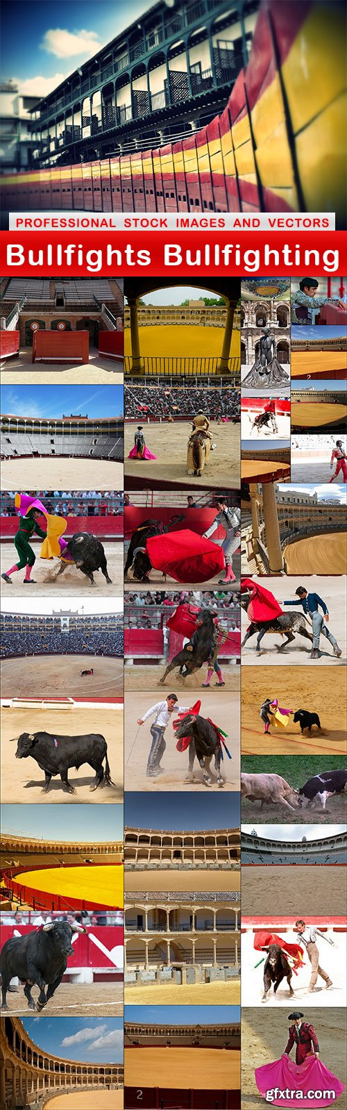 Bullfights Bullfighting - 32 UHQ JPEG
