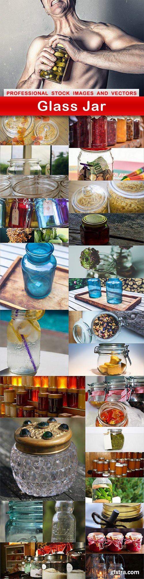 Glass Jar - 30 UHQ JPEG