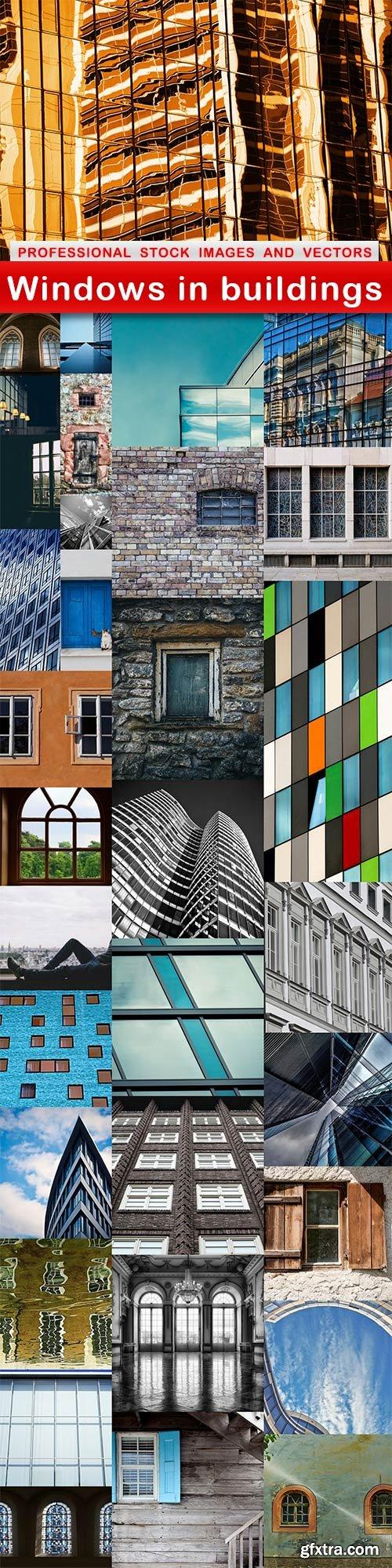 Windows in buildings - 33 UHQ JPEG
