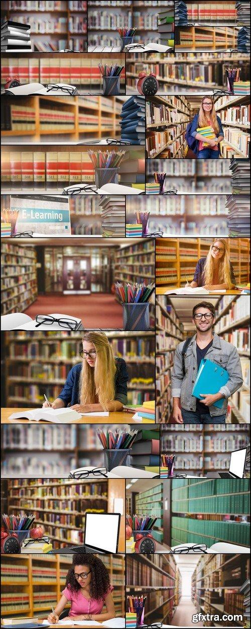 Library Bookshelf 22X JPEG