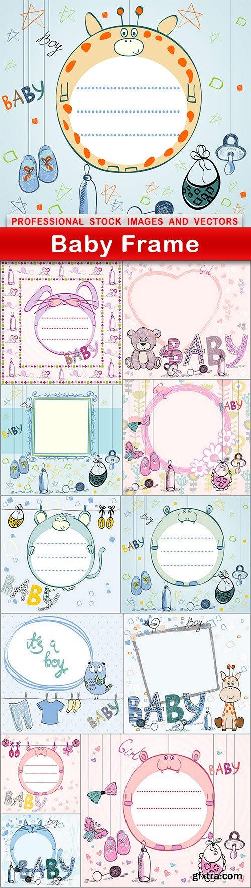 Baby Frame - 12 EPS