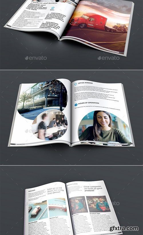 GraphicRiver - Business Plan 15487949