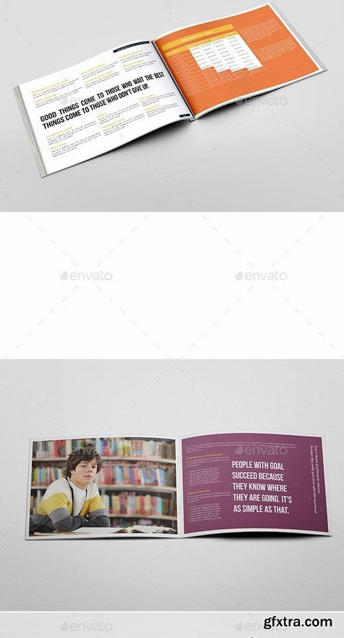 GraphicRiver - Landscape Brochure for Insurance Companies 9699533
