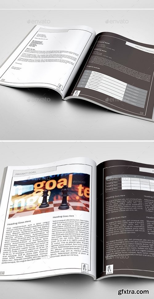 GraphicRiver - Maskoff Multipurpose Business Proposal 9520678