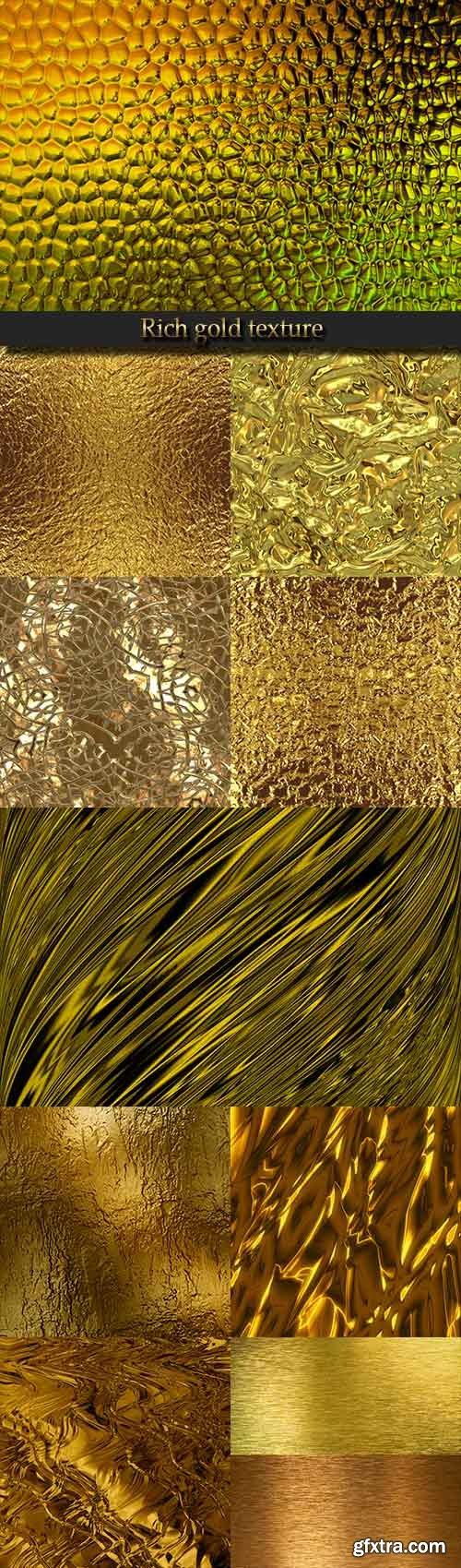 Rich gold texture