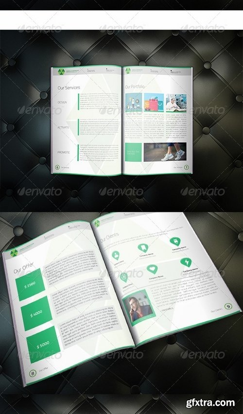 GraphicRiver - Umbrella Corporate Brochure 8326648