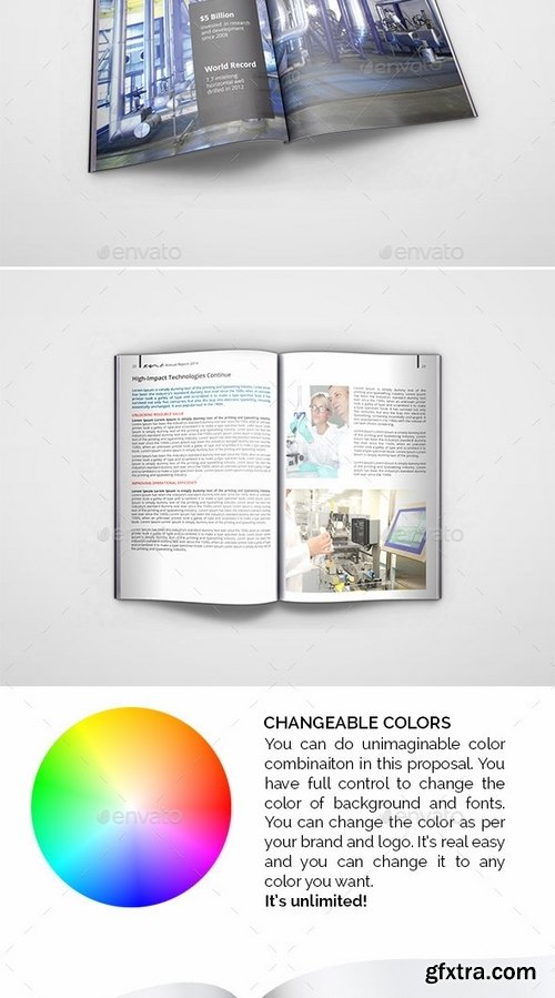 GraphicRiver - Wave Annual Report 9216053