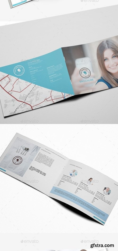 GraphicRiver - The Dentist Oral Care Service Brochure 9543172