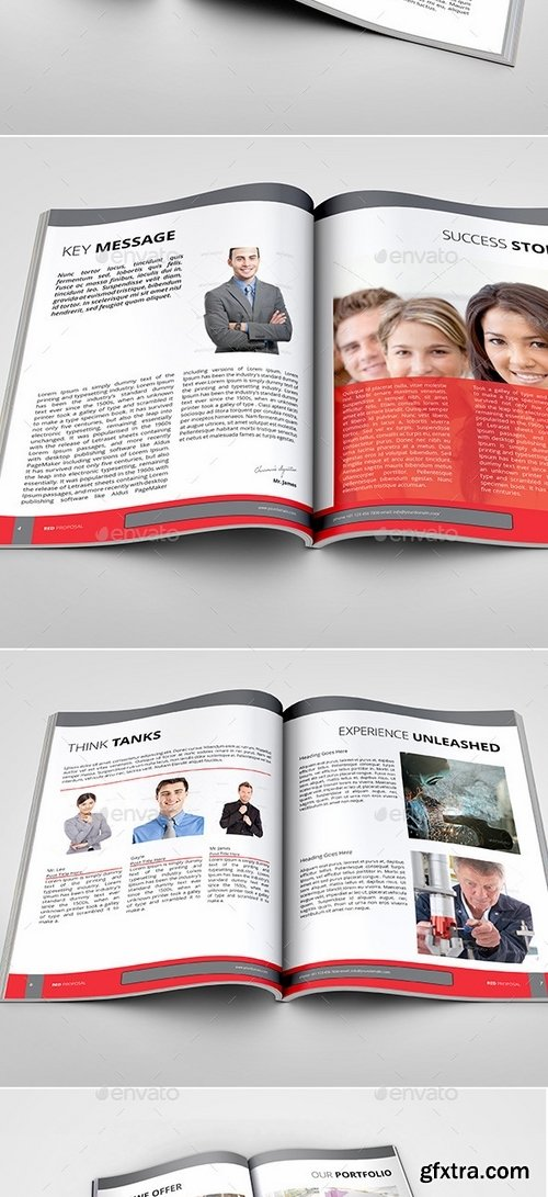 GraphicRiver - The Red Multipurpose Proposal Template 9552871