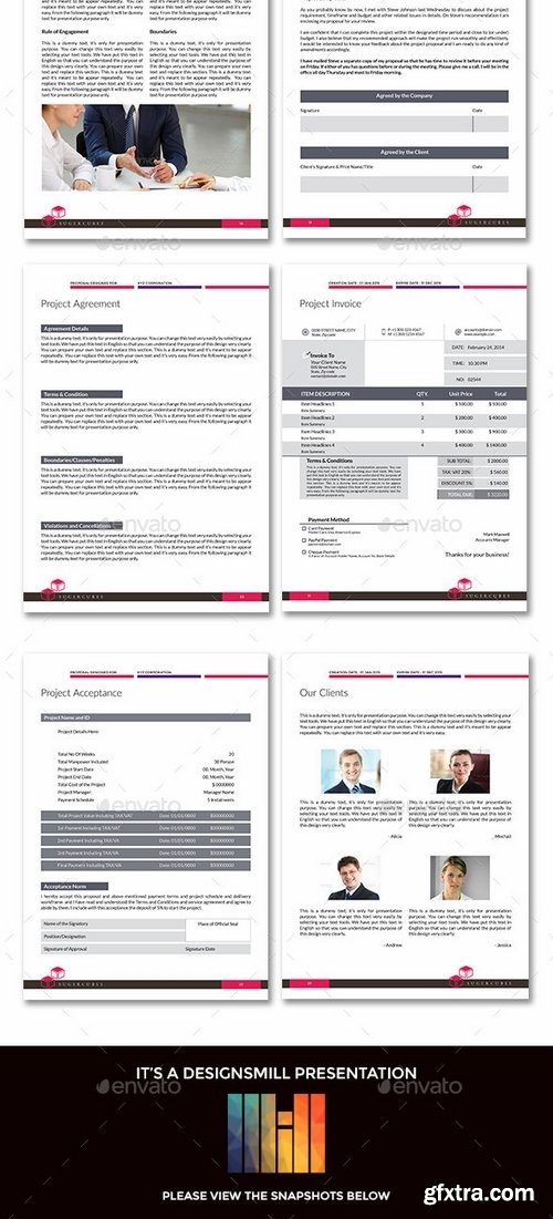GraphicRiver - Sugercube InDesign Proposal Template for Business 9807983