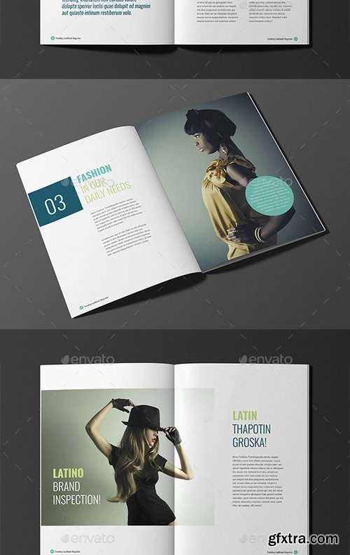 GraphicRiver - Trending LookBook Magazine Booklet V07 18382723