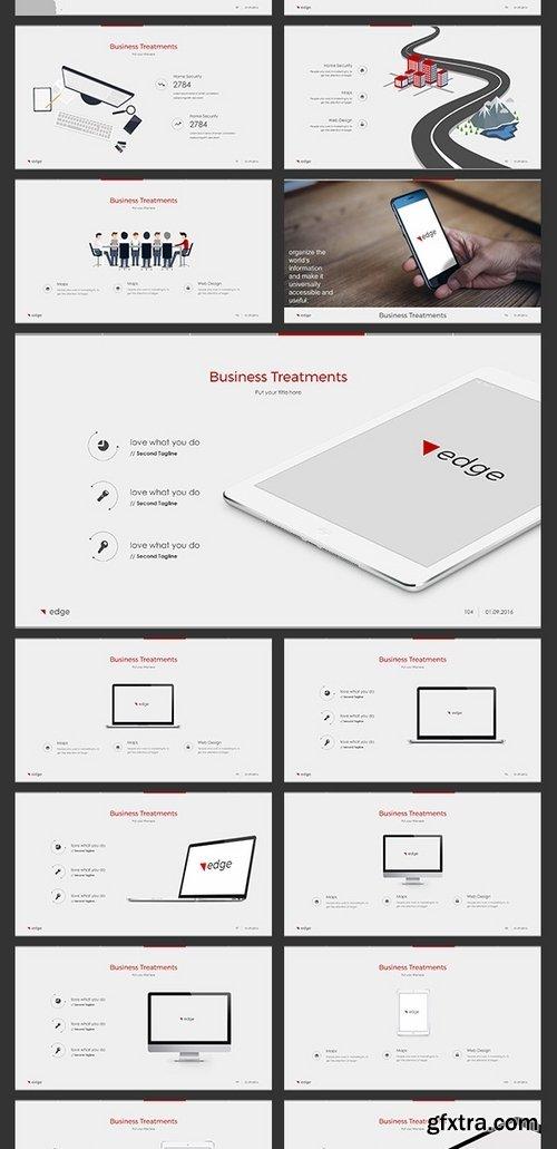 GraphicRiver - edge Keynote 16585854