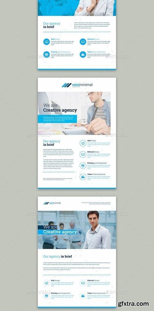 GraphicRiver - Miniminimal – Business Bundle Print Templates 19165497