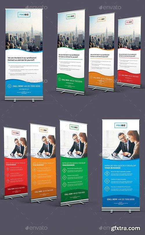GraphicRiver - ProBiz – Business and Corporate Roll Up Banners 19314456