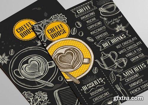 GraphicRiver - Coffee Bar Menu Template 15146462