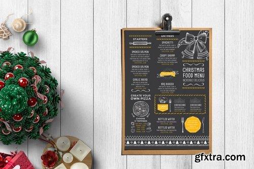 GraphicRiver - Christmas Restaurant Template 13389827