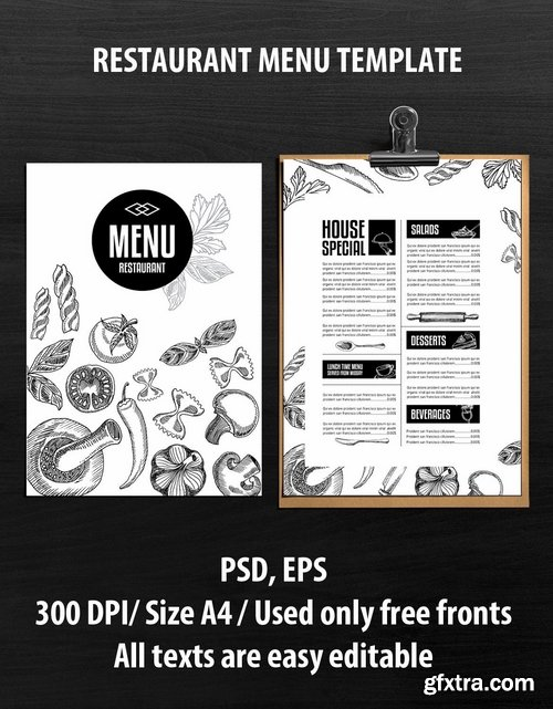 GraphicRiver - Food Restaurant Template 14833384