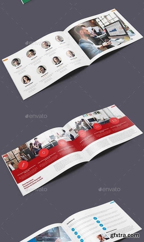 GraphicRiver - ProBiz – Business and Corporate Annual Report Horizontal 19428223