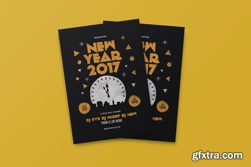 GraphicRiver - New Year Flyer vol2 19109167