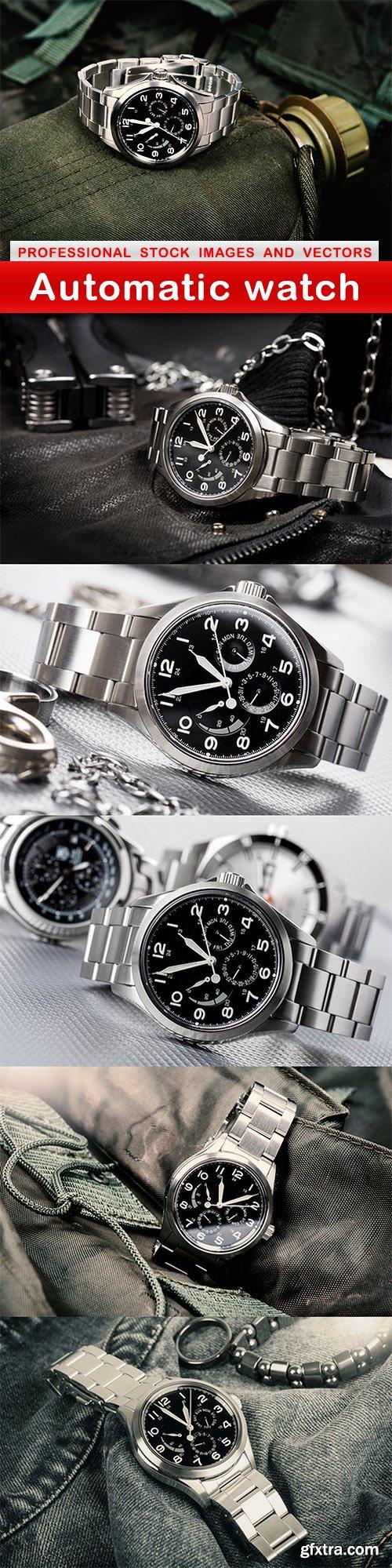 Automatic watch - 6 UHQ JPEG