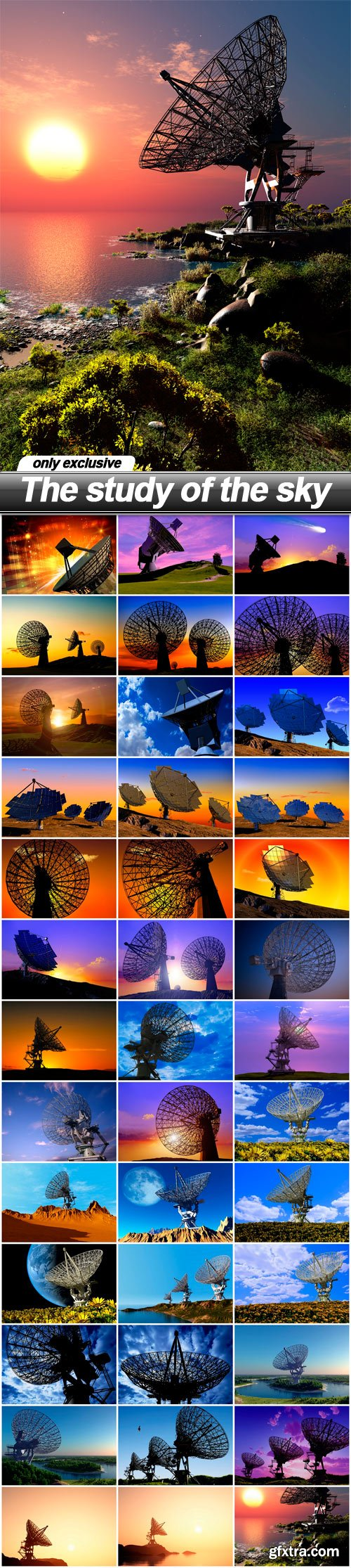 The study of the sky - 39 UHQ JPEG