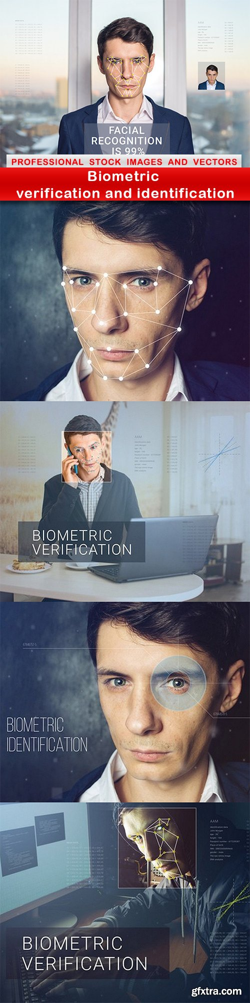Biometric verification and identification - 5 UHQ JPEG