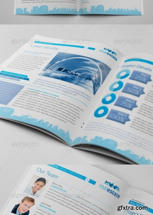 GraphicRiver - Real Estate Corporate Clean Project Proposal 4960287