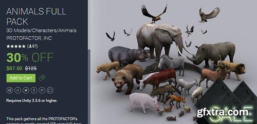 Unity Asset – ANIMALS FULL PACK 1.14