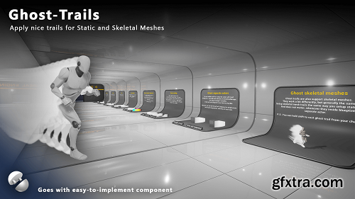 Unreal Marketplace – GhostTrails
